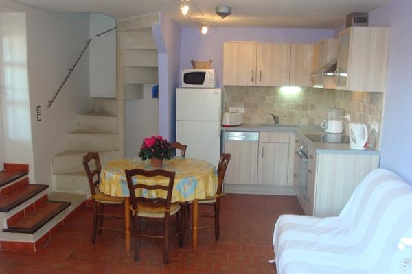 sejour cuisine appartement Santoline